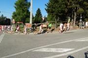 Départ dans les rues de Font-Romeu