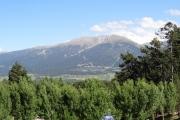 Font-Romeu avec ici le Cambre d'Aze au loin (2745m)