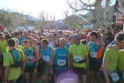 Départ Trail Drôme lafuma