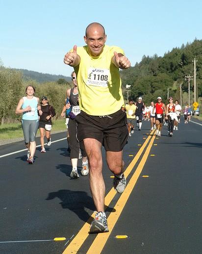 loic le meur marathon Napa Valley