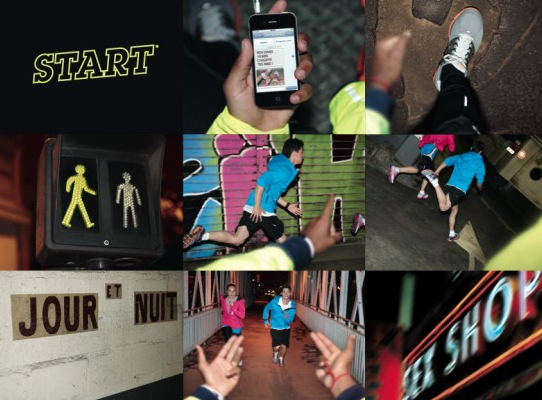 Campagne Nike Lâche ton Run