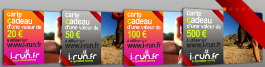 carte cadeau I-Run