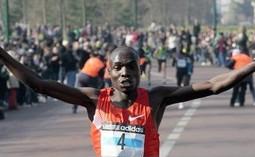 Stephen Kibet, vainqueur semi marathon de Paris 2011