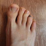 ongles de pied de coureur