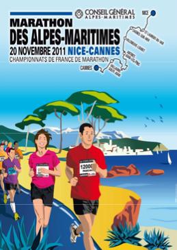 marathon Nice Cannes 2011