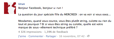 facebook u-run