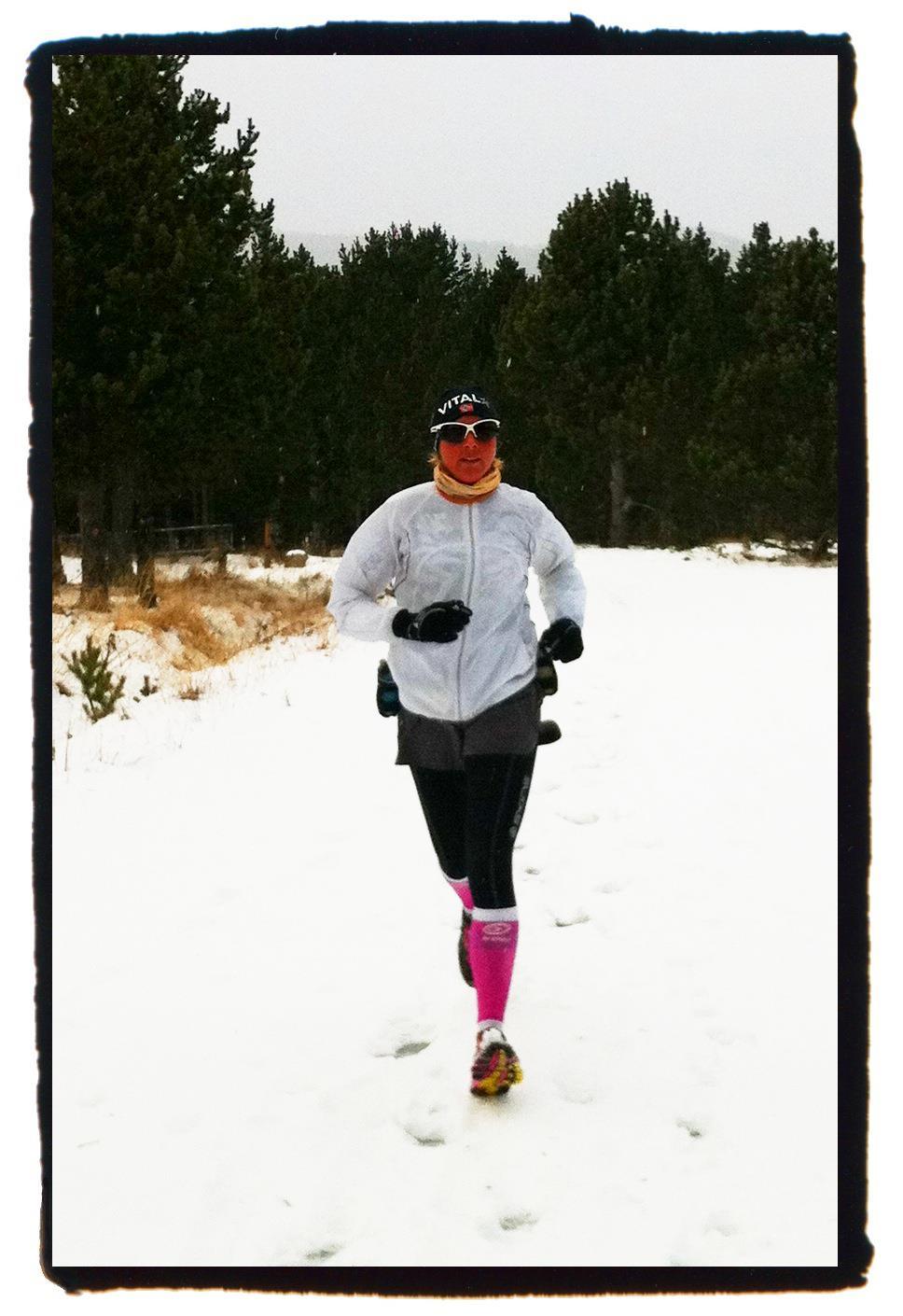 Courir sur la neige u run - Courir la pretentaine ...