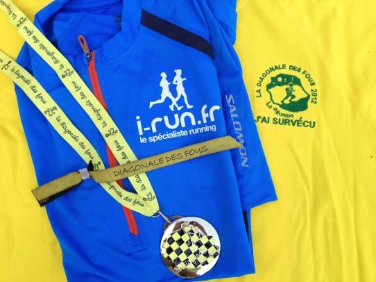 Patrice athlète sponsorisé i-run, finisher