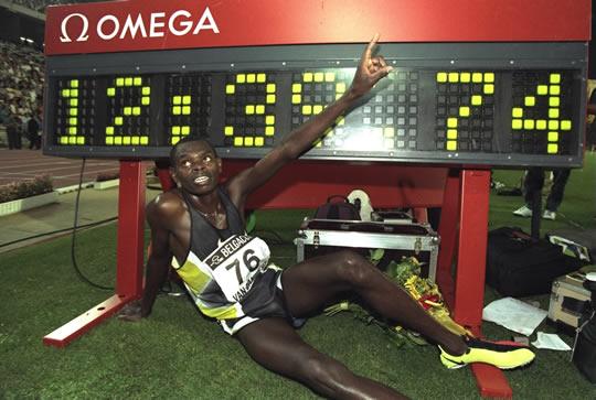 Daniel Komen, champion d'athlétisme