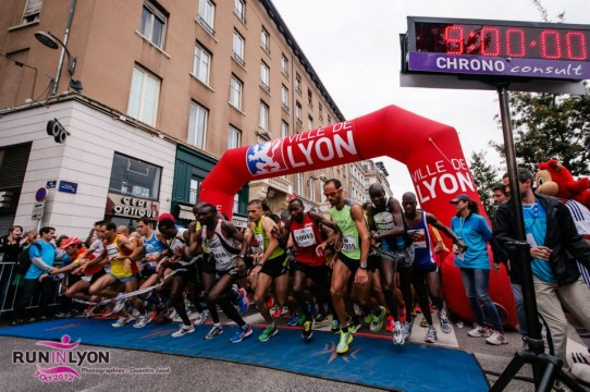 Semi marathon LYON-run in lyon 2012