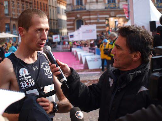 arrivée marathon Toulouse 2012