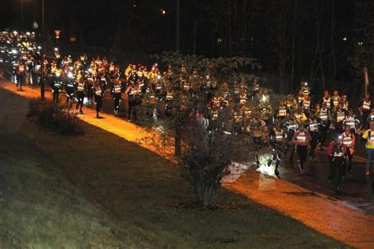 Trail de nuit, la Saintélyon