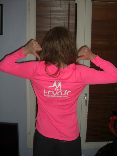 athlète sponsorisée i-run
