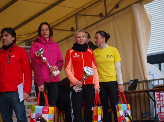 Podium 10km Escalquens