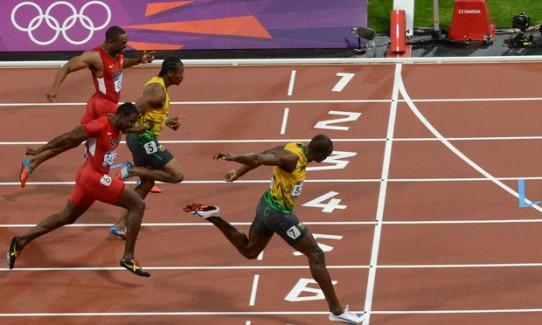 Usain Bolt wins