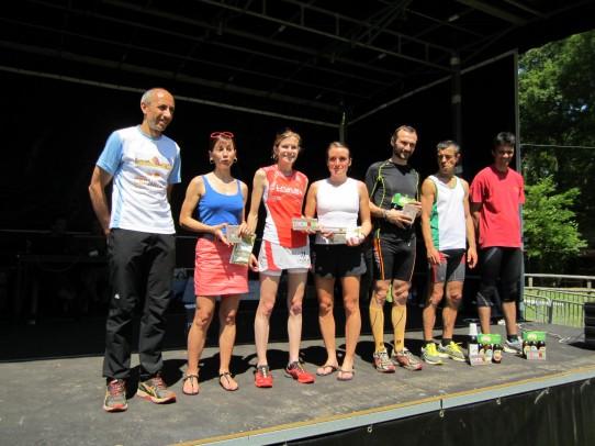 Podium femmes-11km