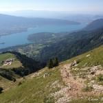 1 - Le Lac d'Annecy vu de la Tournette