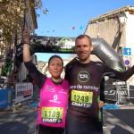 Céline LAFAYE-Ludovic PELLE 17 km