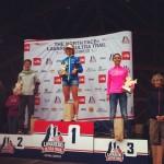 Podium femmes Cortina Trail