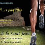 marathon de la saint jean Affiche2014