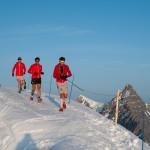François D'Haene et Kilian Jornet Ice Trail Tarentaise  2013 photo www.photossports.com