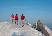 Ice Trail Tarentaise MIZUNO : Christel Dewalle et François D'Haene, ambassadeurs