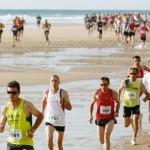 course sur le sable