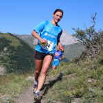 Laëtitia Dardanelli 1ère dame 23km Trail Ubaye Salomon photo Stéphane Pillet