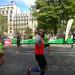 marathon de paris-arrivée