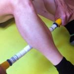 bâton de massage