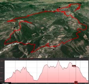 parcours 60km France