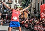 Rory Bosio (team The North Face) remporte l'UTMB® 2014