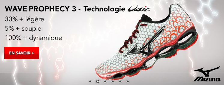 Mizuno Wave Prophecy 3 Homme