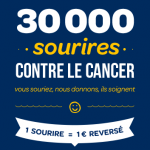 30 000 sourires contre le cancer