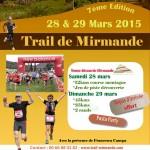 affiche trail mirmande 2015