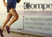 Venez tester les produits COMPEX chez i-Run !