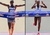 Keitany et Kipsang vainqueurs au marathon de New York!