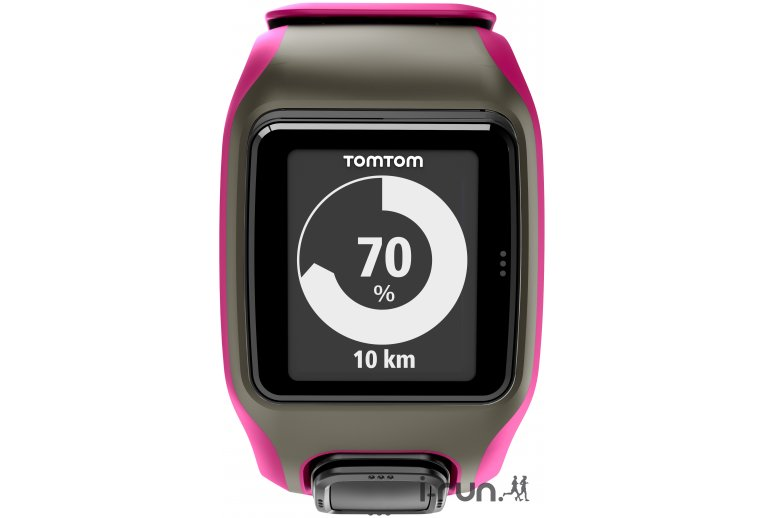 montre gps tomtom multi sport rose fonce. Black Bedroom Furniture Sets. Home Design Ideas