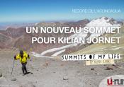 Kilian Jornet au sommet de l'Aconcagua