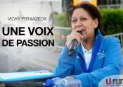 Vicky Pieniazeck, une voix de passion