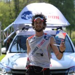 Wings For Life World Run 2014 Thibaut Baronian 1er homme épreuve française photo Wings For Life World Run