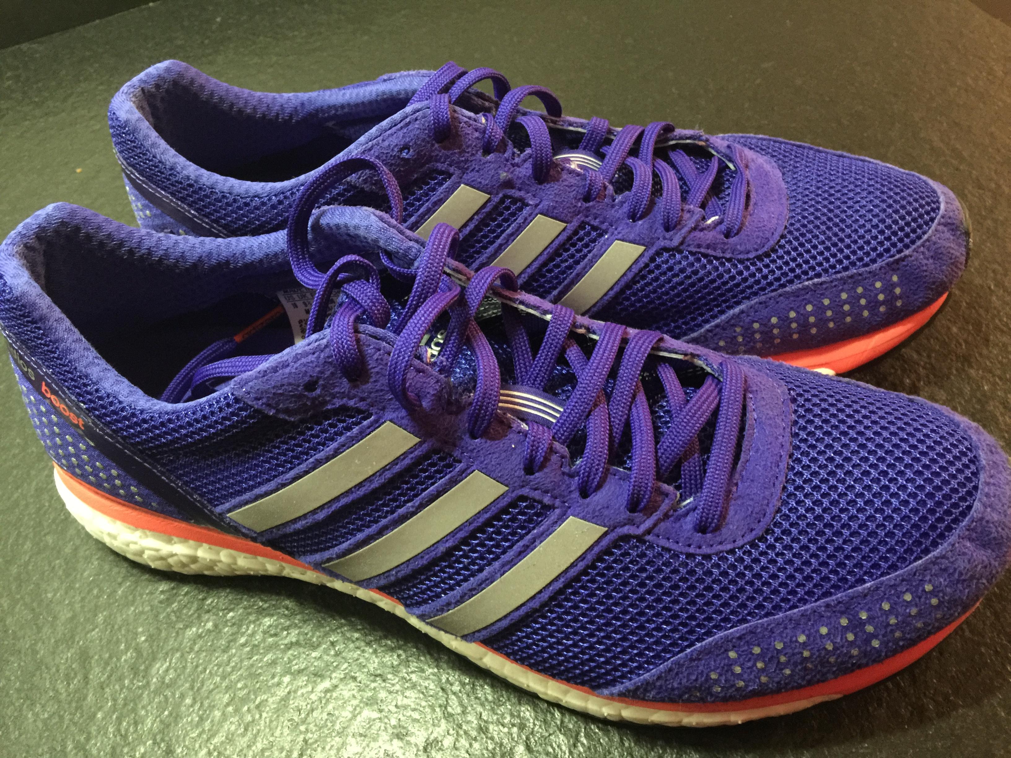 adidas boost violette