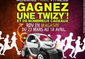 Une voiture Renault Twizy à gagner avec i-Run.fr