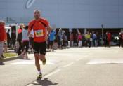 Samir sur le semi-marathon de Blagnac