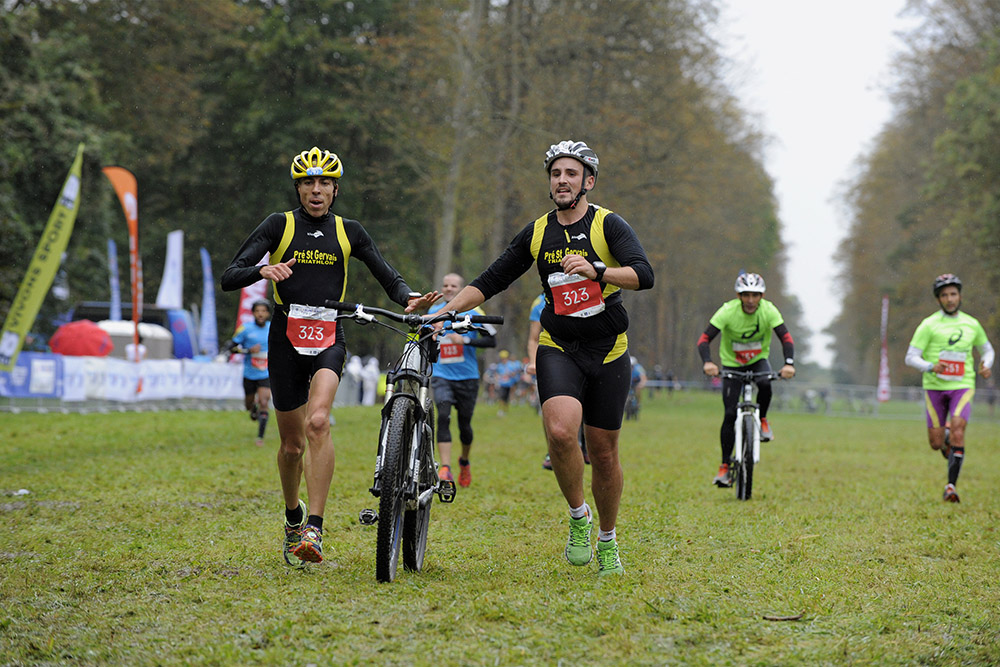 La Run&Bike Solidaire  le 20 septembre 2015 au Bois de Boulogne – U