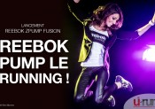 Reebok pump le running !