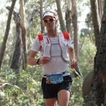 Michel Lanne en action sur le Buffalo Stampede Skymarathon  souce photo facebook.comsalomonrunning