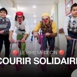 courir solidaire avec le rire solidaire