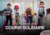 Courir solidaire avec l'association Le Rire Médecin