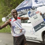 Simon Munyutu vainqueur à Rouen crédit photo  Wings For Life World Run